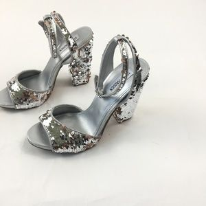 43a372684c6 New Steve Madden Ritzy Sequin Sandal Boutique